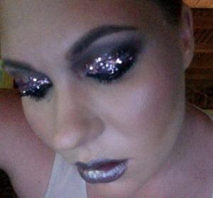 70's sparkles!  MUA- Jen P