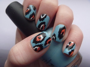 Tribal Nails, March 4 2012