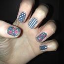 My vintage nails