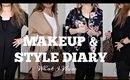 Style & Makeup Diary // What I Wore