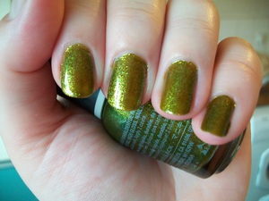 Orly It's Not Rocket Science Nail Polish  To read my review of the polish please visit my blog:  www.mazmakeup.blogspot.com