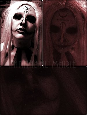 My take on Sherri Moon's character from The Lords Of Salem!  I added the extra piercings for added creepiness! Me likey!