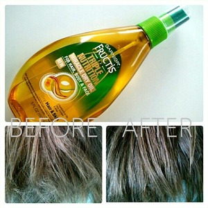 My review on the Garnier Fructis Triple Nutrition Miracle Dry Oil; love it on my legs, like it on my cuticles, disliked it on my hair and face.