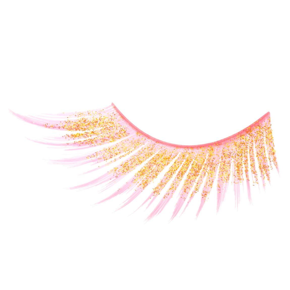 Inglot Cosmetics Eyelashes 35S product swatch.