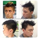 Marco Reus Inspired Men Haircut