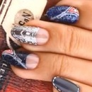 KOREAN JEANS Nail art