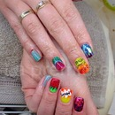 Fruit dizziness - icons nails