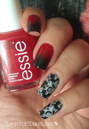 http://stampoholicsdiaries.com/2015/03/02/black-red-nails-with-kiko-essie-and-b-loves-plates/