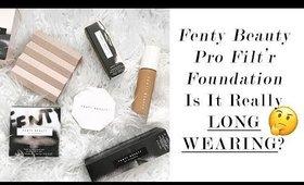 Fenty Beauty Foundation Longwear Test + Review