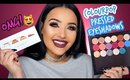 NEW COLOURPOP PRESSED EYESHADOWS SWATCHES | AMANDA ENSING