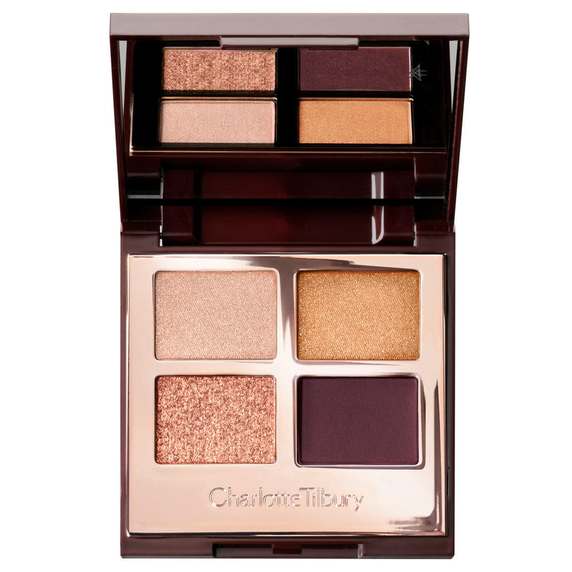 Charlotte Tilbury Luxury Palette The Queen Of Glow product swatch.
