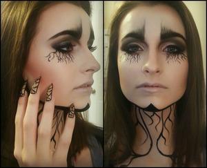 Makeup for a beauty editorial. Makeup|Nails by: Tiffany G. (me) Model: Alyssia McGoogan w/ Arche Models and Talent https://www.facebook.com/ArcheModelsAndTalent