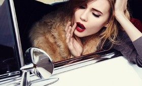 Beauty Flash: Burgundy Lips Are Back!