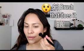 Only $3!!! Brush that does it ALL!!!! | Elf Cosmetics Small Stippling Brush | YOU NEED!!