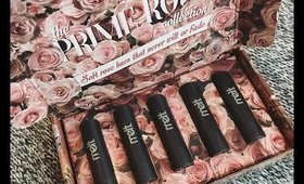 PRIME ROSE COLLECTION MELT COSMETICS   REVIEW & SWATCHES