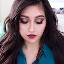 Vampy Fall Makeup