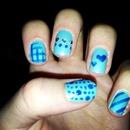 blue random