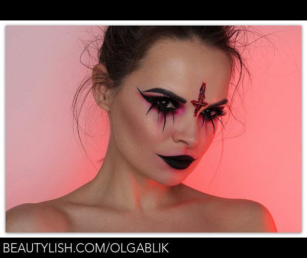 Halloween Makeup Devil.Devil Halloween Makeup Olga B S Olgablik Photo Beautylish