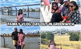 Family Vlog: Day out in Greenwich