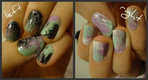 marbling without water!