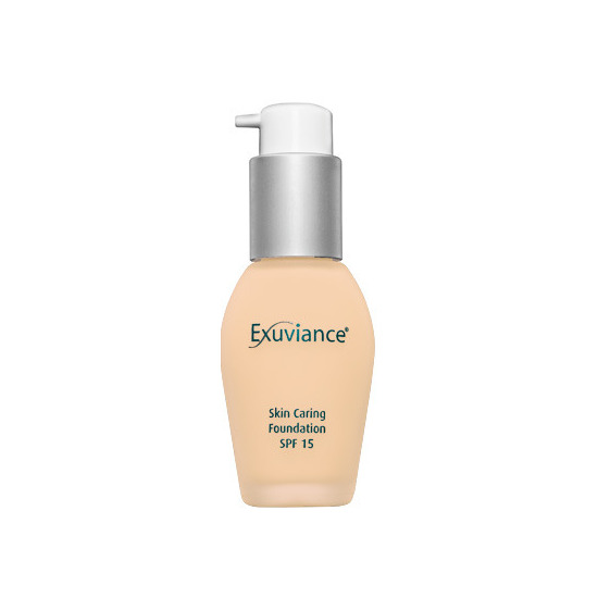 exuviance foundation honey sand