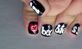 I Love B00Bies Nail Tutorial (BCA)
