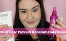 Hair Care Faves & Recommendations