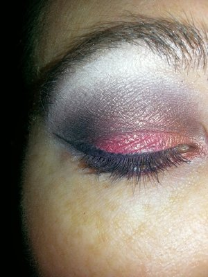 Look created with coastal sense pallet and NYC