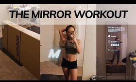 the mirror workout interactive home gym//review ● EverSoCozy