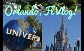 Orlando Florida Disney World/Universal Studios Vlog
