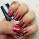 Avon Sea Breeze and Red Lava Mosaic Effects Top Coat