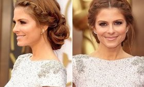 Celebrity Holiday Hair Tutorial Inspired by Maria Menounos from The Oscars