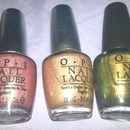 O.P.I colours