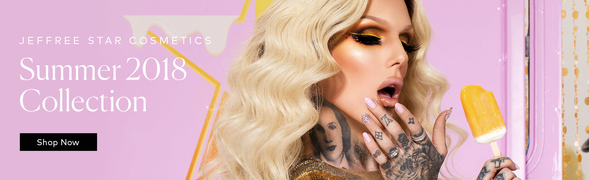 Jeffree Star Cosmetics: Summer 2018 Collection