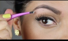 How to fill in and shape your eyebrows