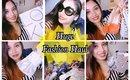 Huge monthly fashion haul. Prada, Kate Spade, Loft, Ross etc.