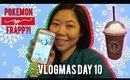 🎄 VLOGMAS Day 10: POKEMON GO FRAPPUCINO, FRESH ROSE FACE MASK | MakeupANNimal