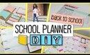 School Notebook Planner DIY - Back to School 2016 #SCHOOLSIMPLIFIED