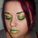 Australia Day Inspired Makeup - Using Face Paint Palette