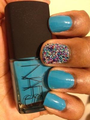 Nars X Caviar Ciacet nails