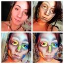 Inverted Rainbow Skull