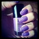 Purple Nailart