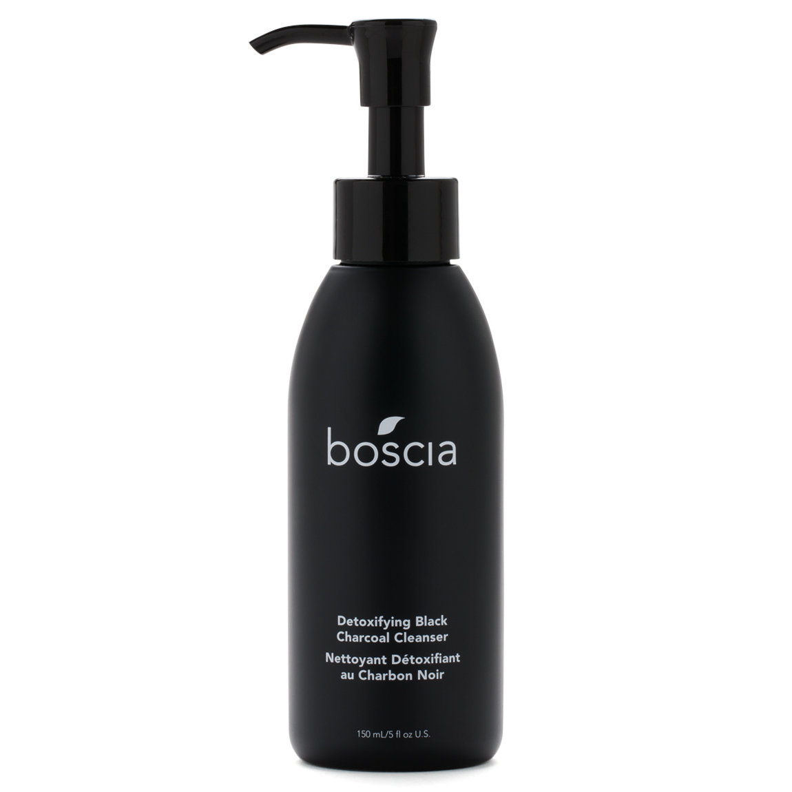 boscia Detoxifying Black Charcoal Cleanser 150 ml product swatch.