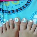 Cute polka dot toes!!!