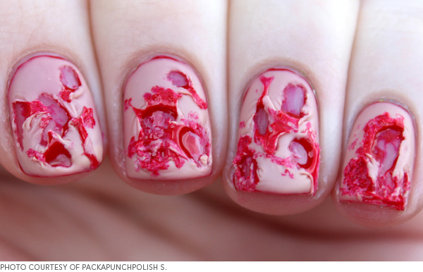 Blood Wounded Nails
