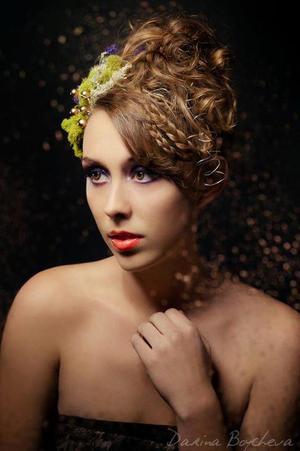 Photographer - Darina Boycheva Model - Liz MacNaughton Hair Stylist - Yajaira Daniel Hairstylist  http://hillaryhuntmua.blogspot.com https://www.facebook.com/HillaryHuntMUA