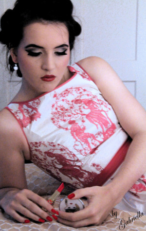 1950s domestic makeup/shoot Model: Olivia  Photography and makeup by me