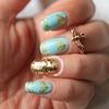 Vintage Mint Nails