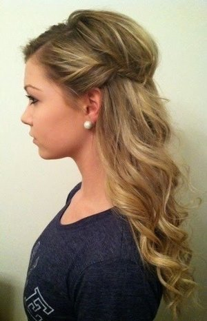 Admirable Prom Hair For Strapless Dress Beautylish Hairstyles For Men Maxibearus