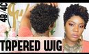 Kinky Curly Tapered Wig   No crotchet   Modu Anytime Invisi Lace LPW-147